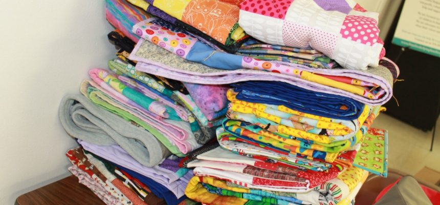 Quilt-A- Thon Makes an Impact on Local Children in Foster Care